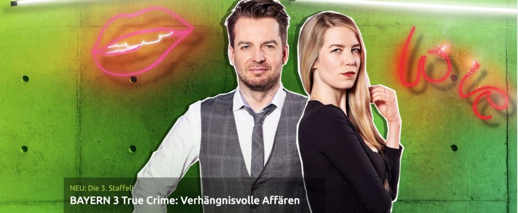Bayern 3 True Crime Website Cover
