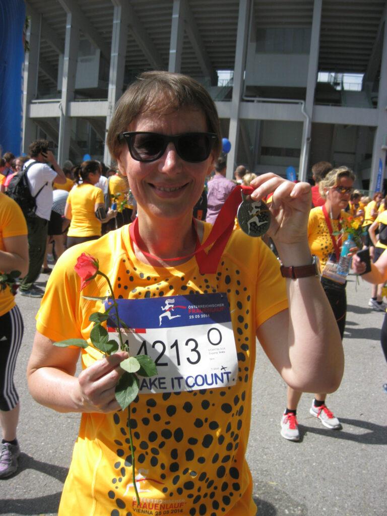 Uli Pauer Frauenlauf Medaille